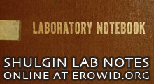 Shulgin Lab Notes Online Now at Erowid.org