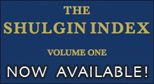 Get The Shulgin Index Volume One Today!